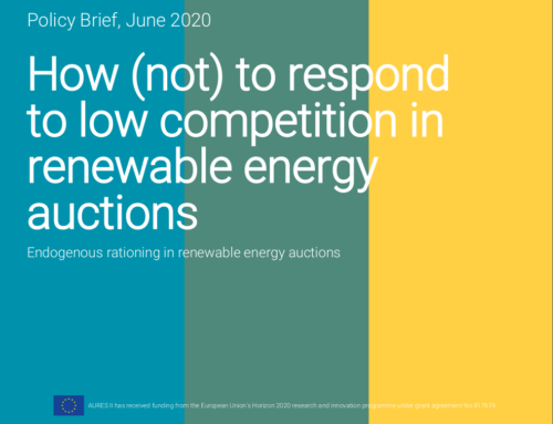 How (not) to respond to low competition in renewable energy auctions