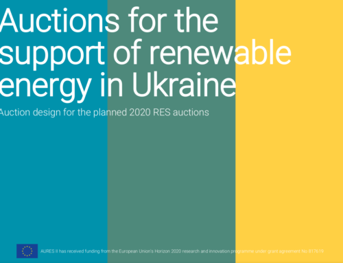 Auctions for the support of renewable energy in Ukraine