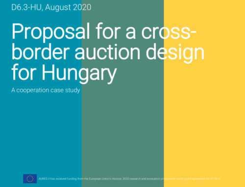 Proposal for a cross- border auction design for Hungary