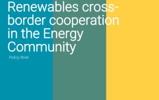 polic brief aures energy community