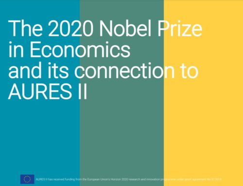 The 2020 Nobel Prize for Economics and its connection to AURES II
