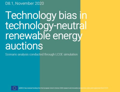 Technology bias in technology-neutral renewable energy auctions