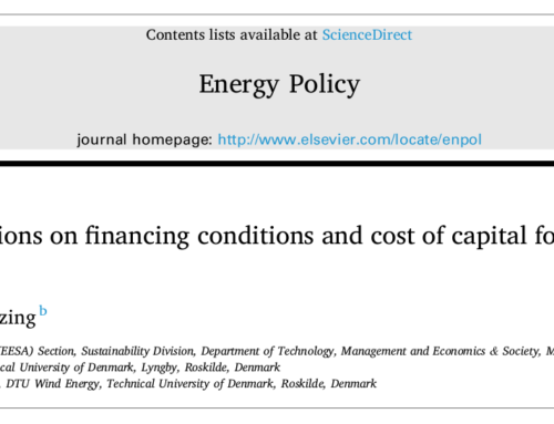 New paper on the impacts of auctions on financing conditions